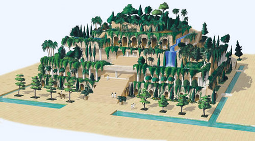 Hanging Gardens of Babylon | Algumas histórias indicam que o… | Flickr