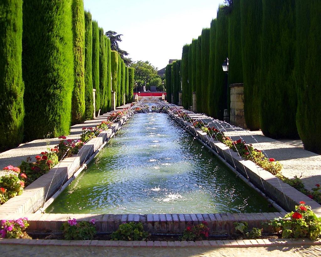 Spanish Garden 3 Alc Zar De Los Reyes Cordoba Spain