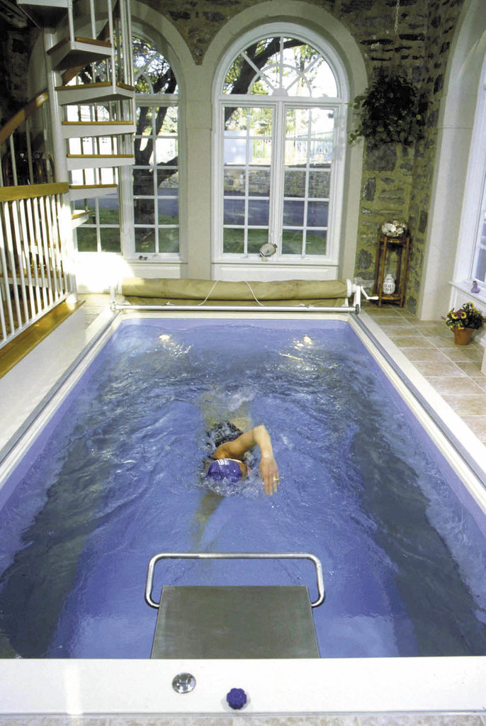... Endless Pools Indoor Swimming Pool | By Endless Pools