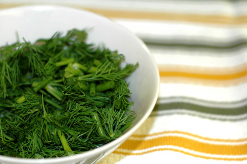 lovely, fresh, chopped dill | by sassyradish
