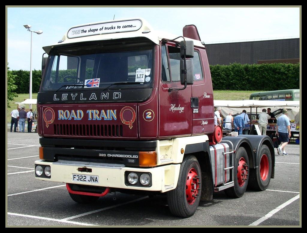 LEYLAND T45 Roadtrain 20.32   Leyland ( Scammell) were ...