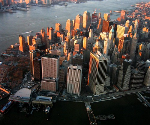 Lower Manhattan from Helicopter | by nosha