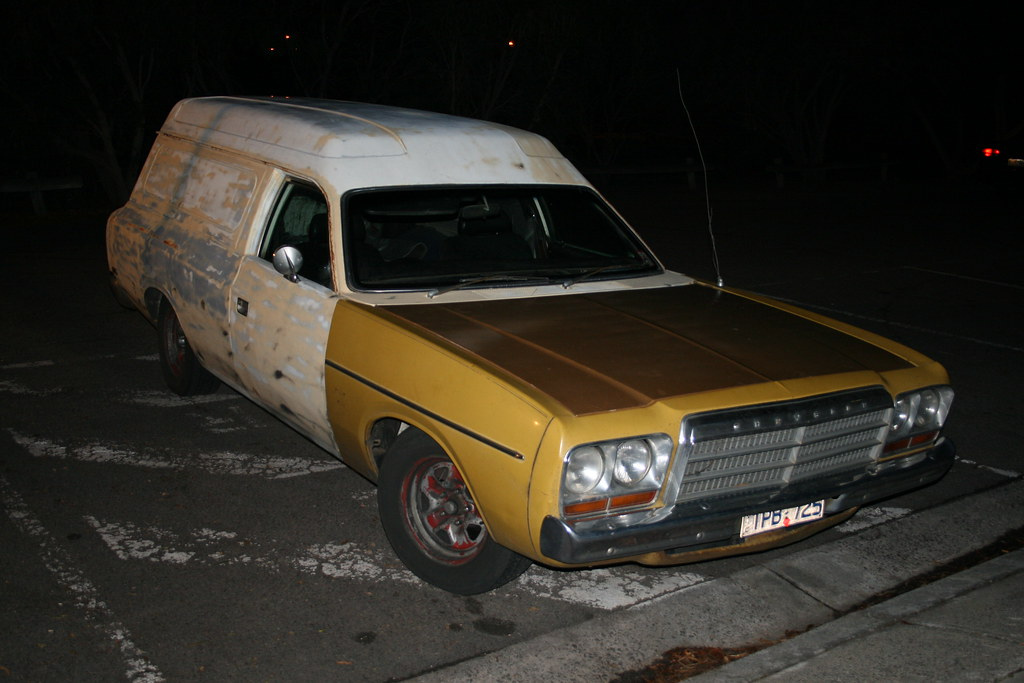 Chrysler Cl Valiant Drifter Panel Van Owned By A Mate Of M Flickr