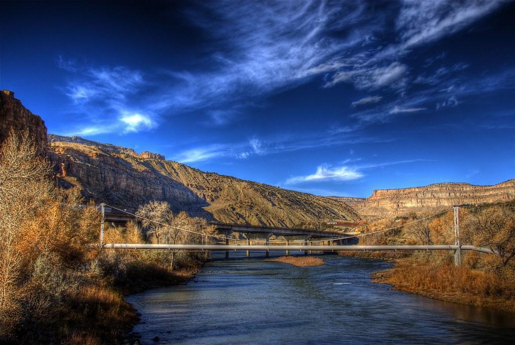 Pipeline bridge colorado river grand junction colorado for American garden company