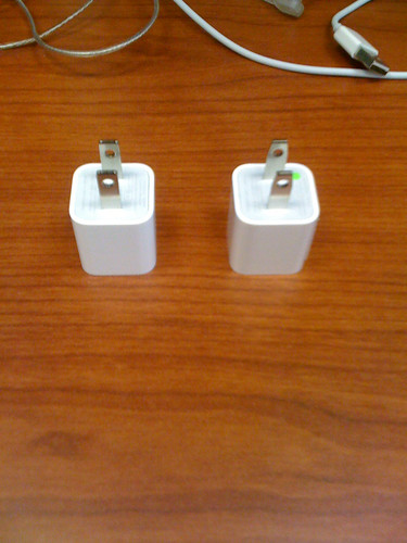 iPhone power adapters | by chowdn