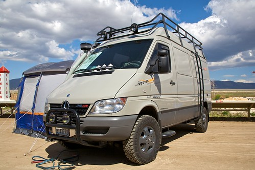 New Mercedes Benz >> Overland Expo 2009 | Sprinter with a 4x4 conversion. | Nick Taylor | Flickr