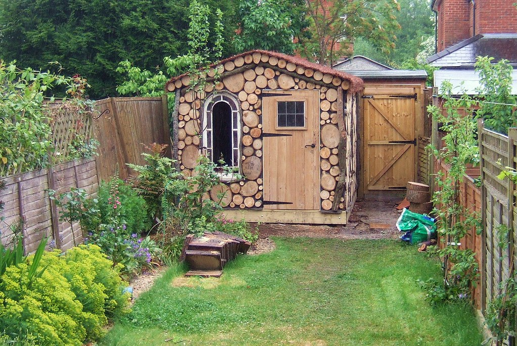Shed Nearly Complete | Just needs some more glass in the ...