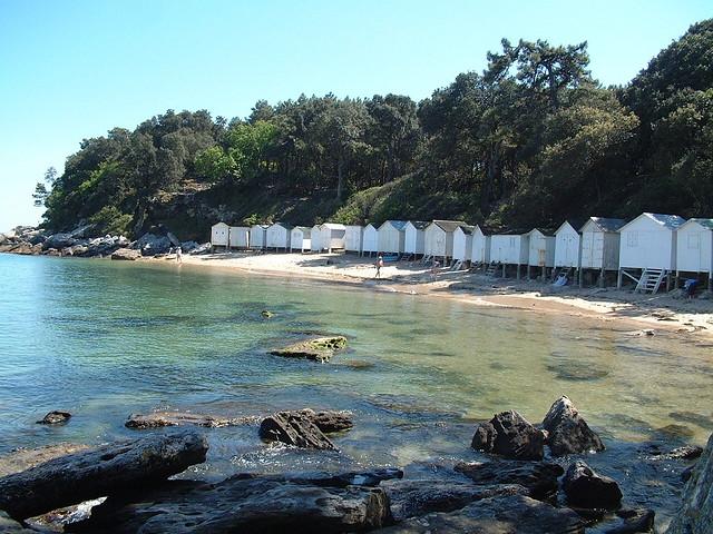 les cabines de la plage des dames noirmoutier ces. Black Bedroom Furniture Sets. Home Design Ideas
