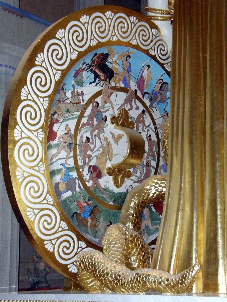 Athena's Shield | In Greek mythology, Medusa Μέδουσα ...