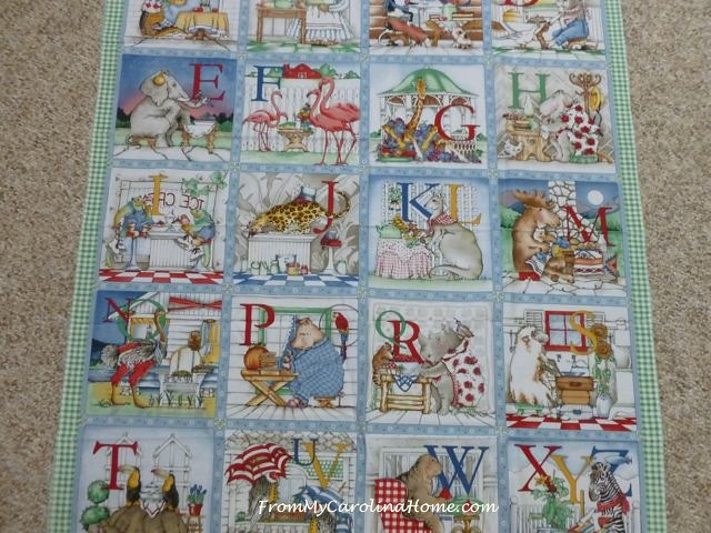 ABC Quilt ~ From My Carolina Home
