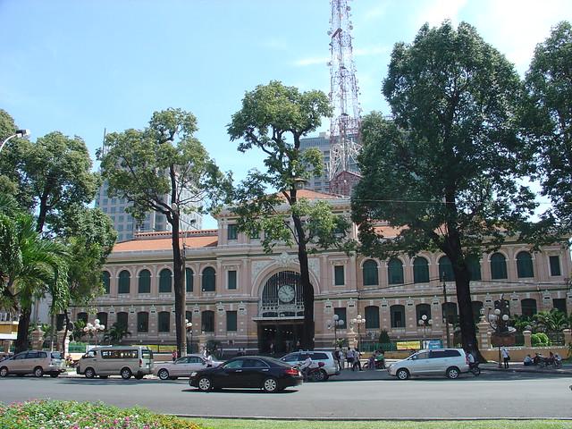 Central Post Office Ho Chi Minh City Vietnam Flickr