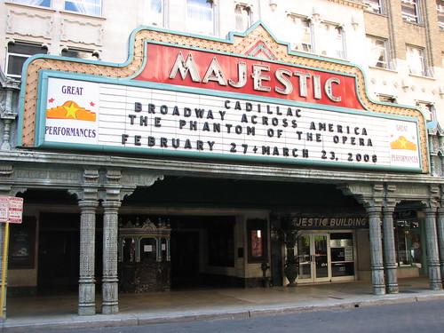 San Antonio's Majestic Theatre facade, by Michael Bates (IMG_0547)