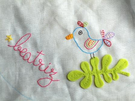 ♥ embroidery bib | wip... | by ♥ Ana's Place ♥