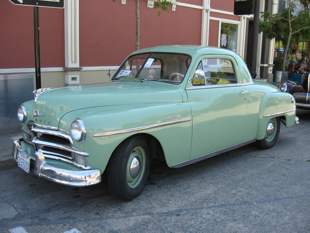 1950 Plymouth Deluxe Coupe Petaluma S Salute To 35 Years