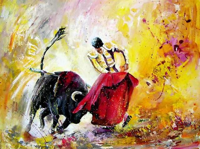 Oil Painting Signed L Y V