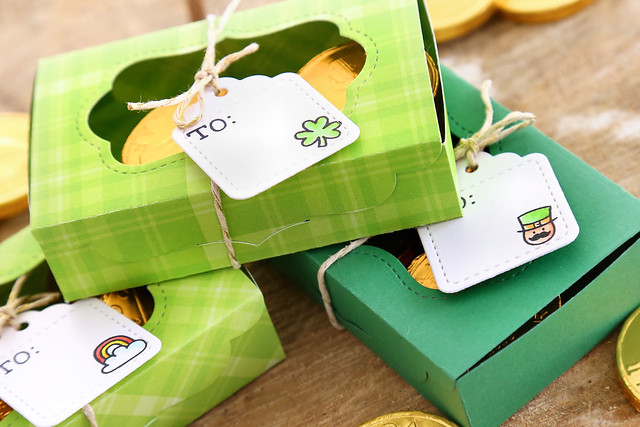 st-patty's day boxes (Lawn Fawn inspiration week)