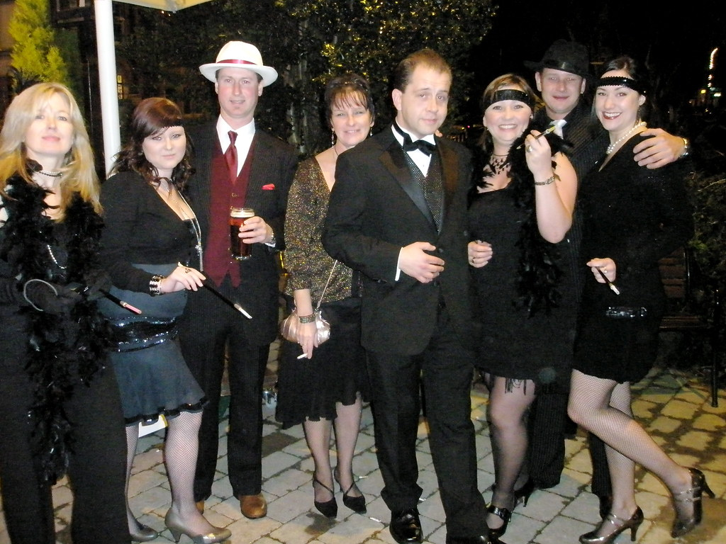 Office Party 07 C 1922 Twenties Night At The Cricket