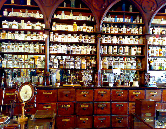 Apothecary S This Is One Of The Less Creepy Rooms At The