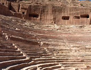 Amphitheatre, Petra | by Kevin.Donegan
