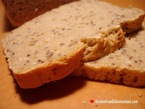 GF:  Sorghum-Flax Bread | by Kate Chan
