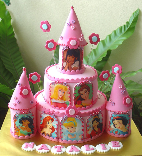 Birthday Cake Castle Disney