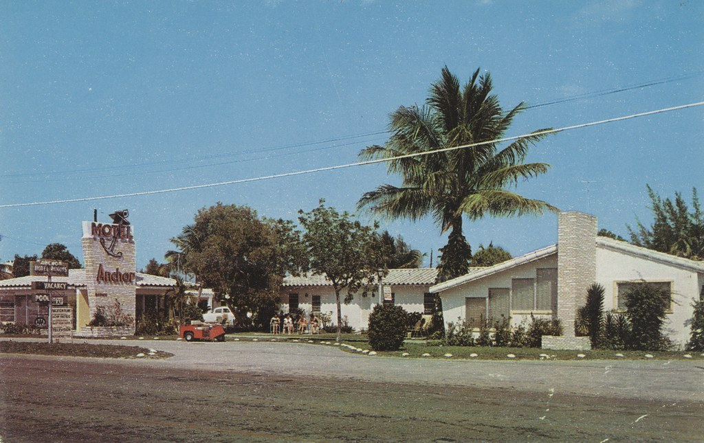 The Anchor Motel - Fort Lauderdale, Florida