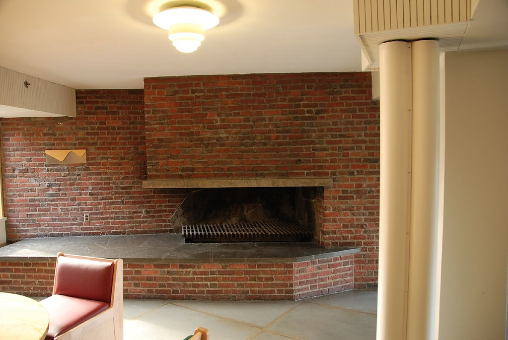 Fireplace Baker House Mit Alvar Aalto 1948 Bjorn Cph