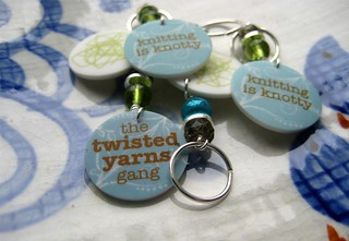 Stitch Markers | by Twisted Knitter