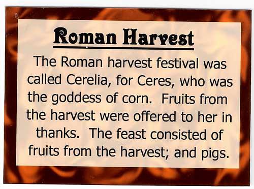 Kuvahaun tulos haulle Roman thanksgiving