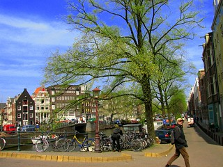 Memories from my trip to Europe: a postcard of  the charming Amsterdam | by neloqua