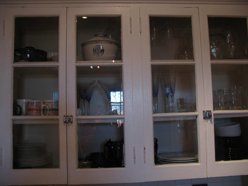 Glass Kitchen Cabenet Door Handels