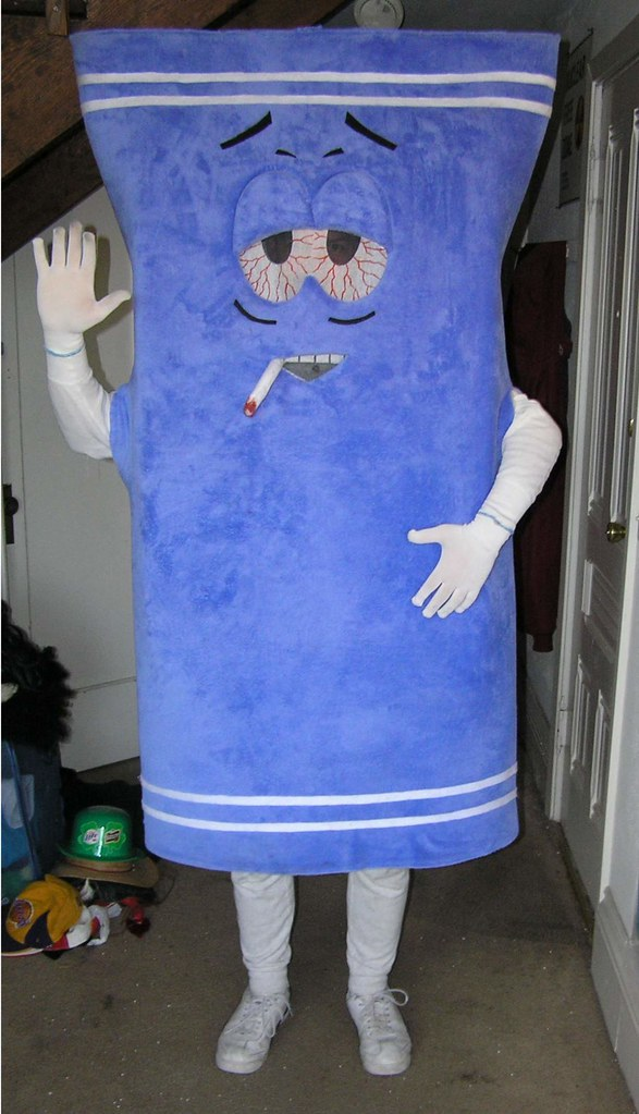 Towelie Costume Halloween '07 | Don't forget to bring a ...