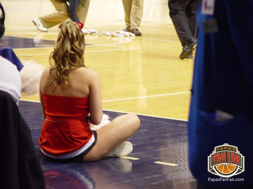 March Madness - College Cheerleader Sitting | Papa John ...