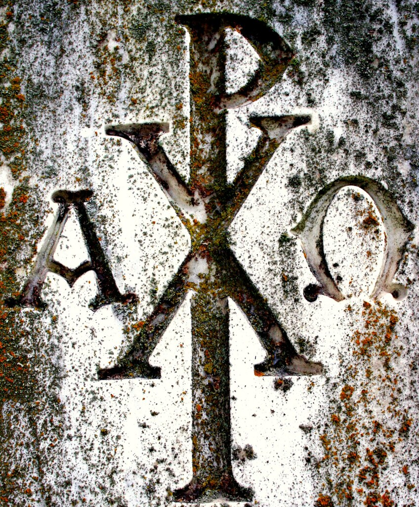 Chi Rho Tombstone In Elmwood Cemetery In Memphis Displayin Flickr
