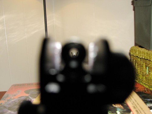 Ar15 Sight Picture I Have Old Fashioned Non Electronic