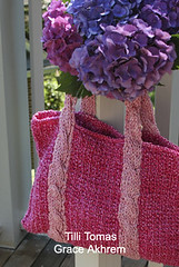 hope tote | by knittingwithgrace