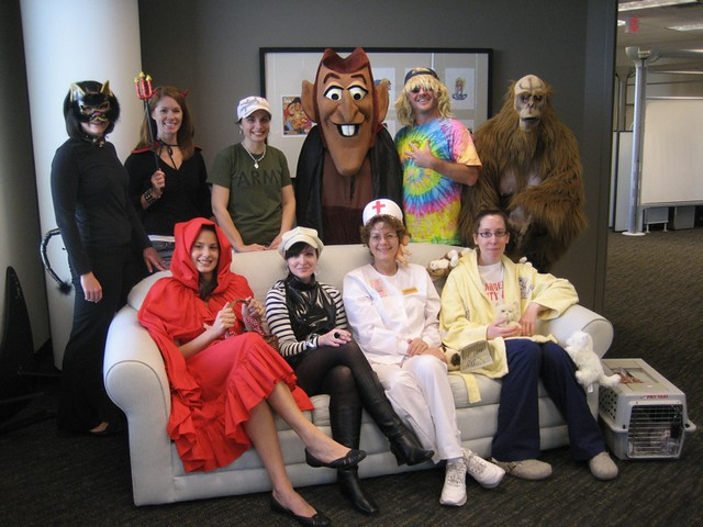 ... Office Halloween Costume Contest Participants | by MeganMorris  sc 1 st  Flickr & Office Halloween Costume Contest Participants | Want more weu2026 | Flickr