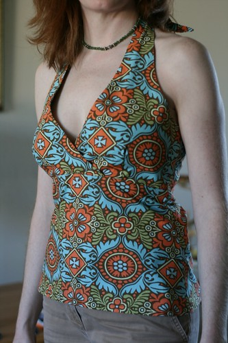 Cabo halter from Amy Butler pattern | by amyehodge