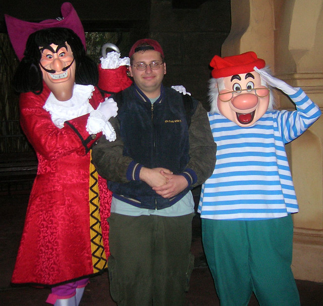 captain hook mr smee captain hook me and mr smee outs flickr