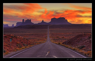 Monument Valley Sunset @ Mile Marker 13 | by Mellard