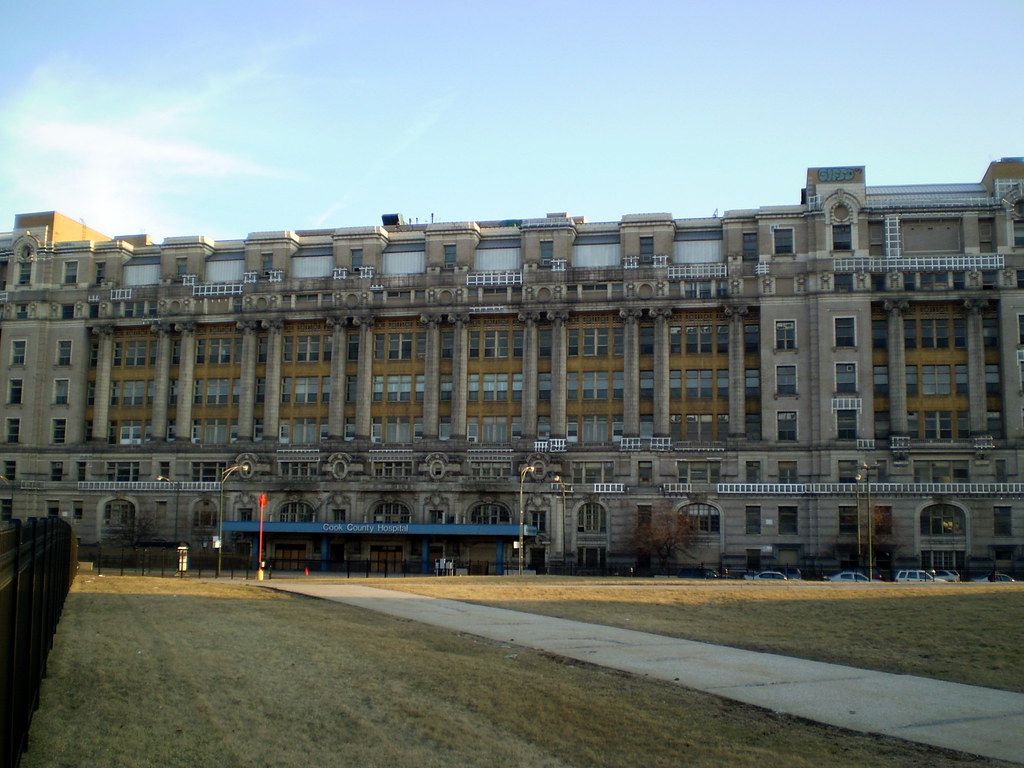 Chicago, Illinois | Old Cook County Hospital. March 19th ...