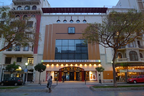 Teatre Tarragona - Tarragona, Catalunya, Spain