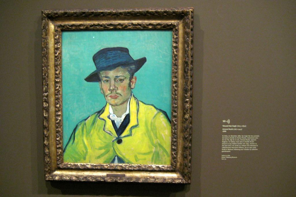 D Painting Exhibition : Paris musée d orsay vincent van gogh s portrait of arm