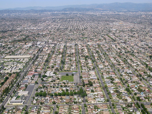 urban sprawal Urban sprawl is loosely defined as low-density residential, and sometimes commercial, development that is outside the borders of higher density urban centers urban sprawl communities are.