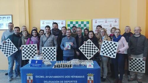 Presentación del programa Ajedrez en la Escuela de la Delegación de Deportes