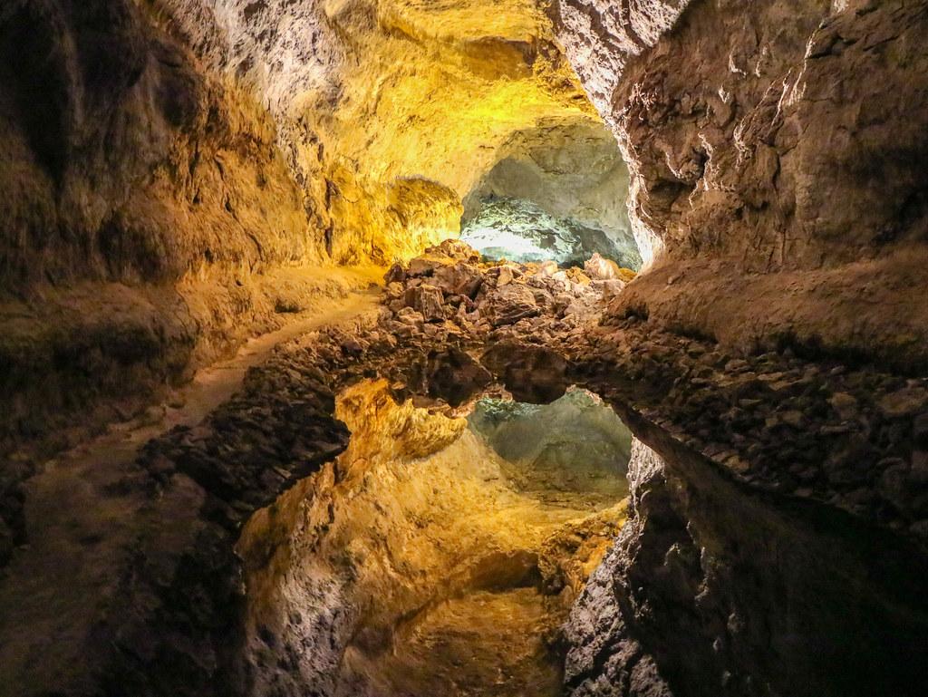 Interior Cueva de los Verdes