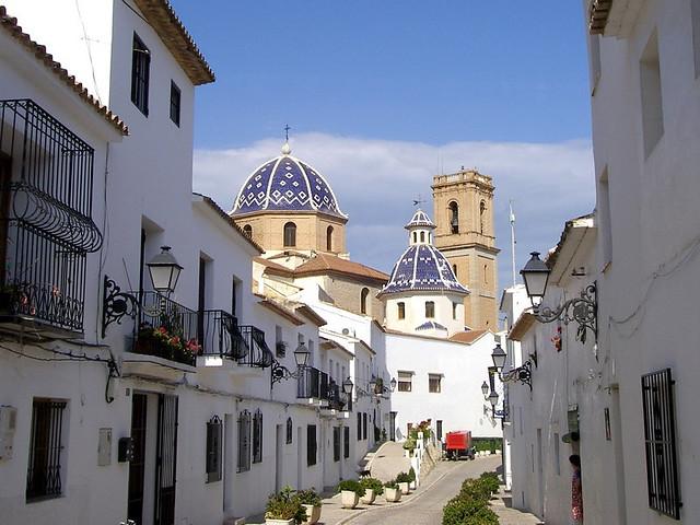 Benidorm Espagne Vieille Ville