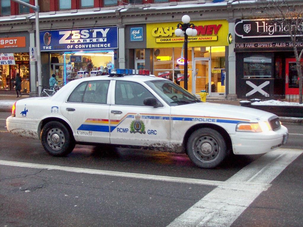 By Steve Brandon An Rcmp Ford Crown Victoria Police Interceptor By Steve Brandon