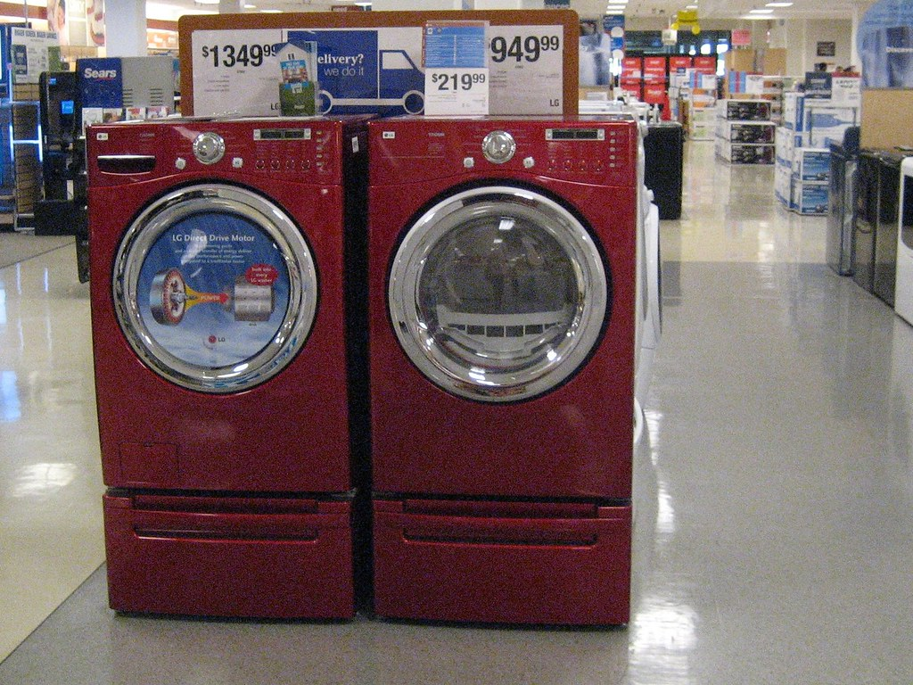 Big Red Washing Machines These Are The Biggest Reddest