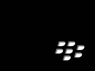 Blackberry logo wallpaper